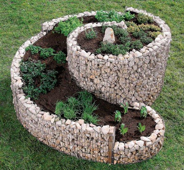 Tout faire dans le jardin avec les gabions for Decoration jardin gabion