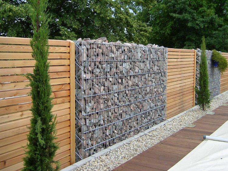 Porte de garage en aluminum composite panel