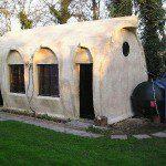Abri de jardin cylindrique - ©Derek Pitt/readersheds.co.uk