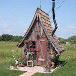 Abri de jardin pour sorcière - ©rusticway.com