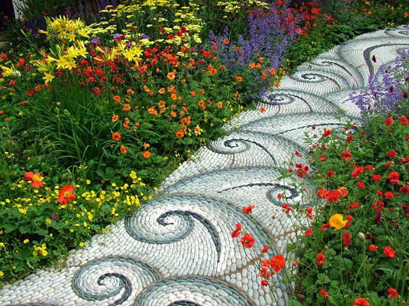 Dcouvrez Les Alles De Jardin En Galets