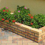 Jardinière en briques ©Terreal