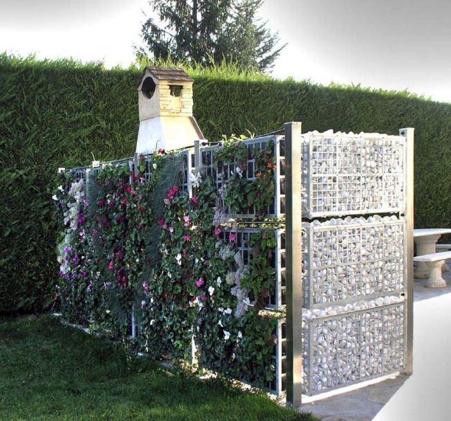 cloture mur vegetal