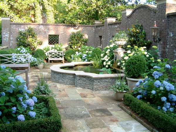 Backyard Fountain Ideas