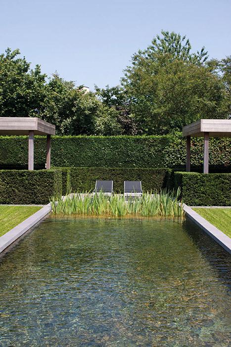 4 styles de bassins copier dans votre jardin for Bassin moderne