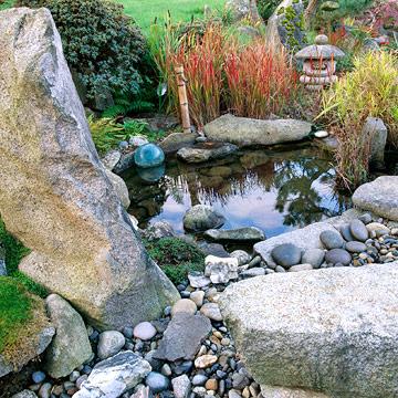 4 styles de bassins copier dans votre jardin - Bassin japonais ...