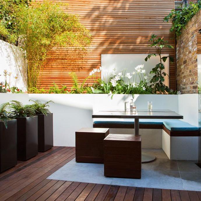 Ideas For Garden Design Relax: 13 Aménagements De Petits Jardins De Ville à Recréer Chez Vous