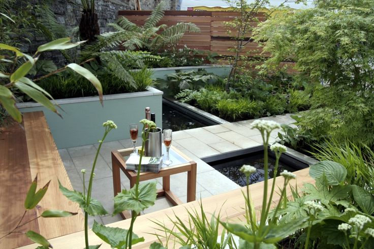 13 am nagements de petits jardins de ville recr er chez vous for Koi garden rio di pusteria