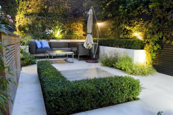 aménagement jardin maison de ville