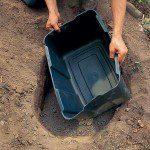 Mise en place du bassin ©Instructables.com