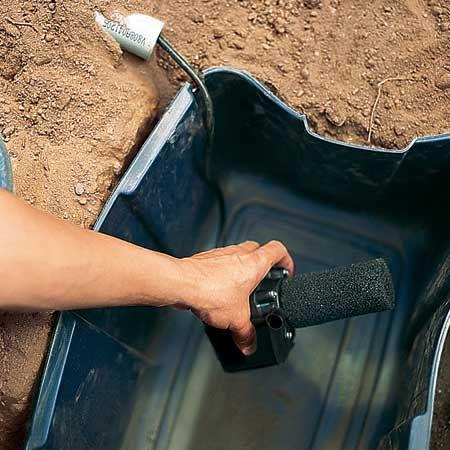 Mise en place de la pompe ©Instructables.com