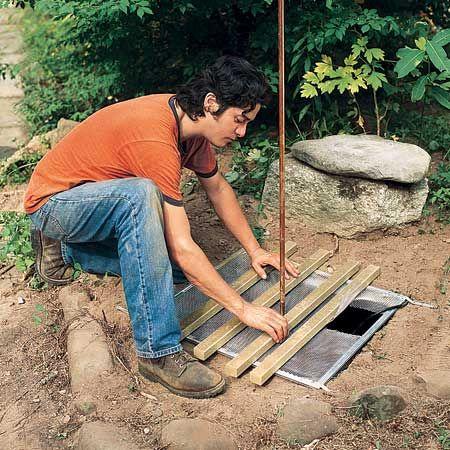cr er une fontaine de jardin soi m me le guide pas pas. Black Bedroom Furniture Sets. Home Design Ideas