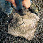 Perçage des pierres ©Instructables.com