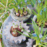 Jardinières en béton @decoracaofacil.com