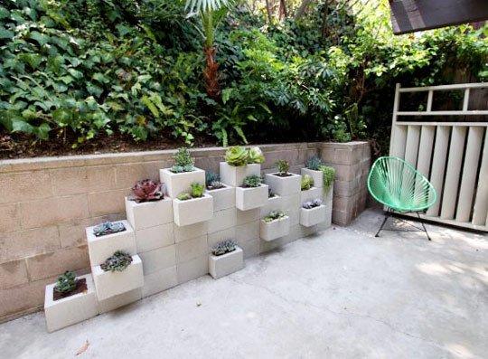 Jardinière En Parpaings ©inconnu