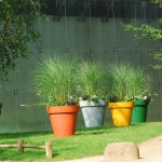 Pots de jardin colorés ©melina1965-Flickr (Creative Commons)