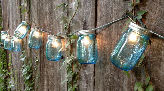 13 idées d'éclairage extérieur à créer soi-même