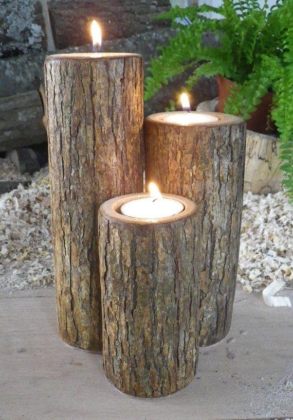 15 cr ations diy pour le jardin partir de rondins de bois - Decoratie recup ...