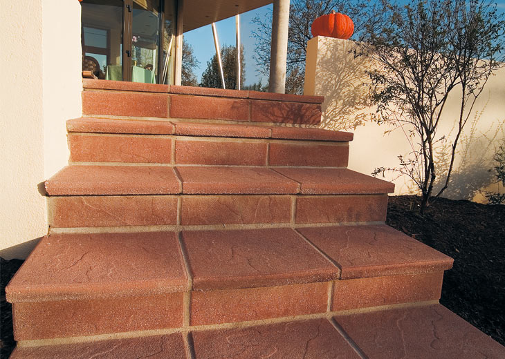 18 solutions pour cr er un escalier ext rieur for Dalle de beton exterieur