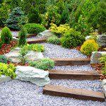 Escalier en traverses bois ©inconnu