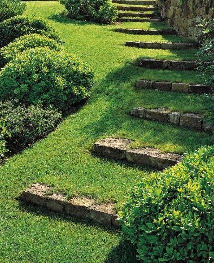 Terraced Backyard Steps : 18 solutions pour cr?er un escalier ext?rieur