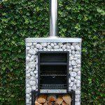 Barbecue en gabion en hauteur ©gaswinkel.com