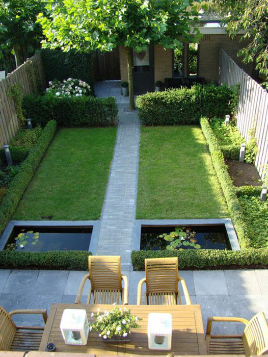 Comment am nager une cour comme un jardin for Terrasse english