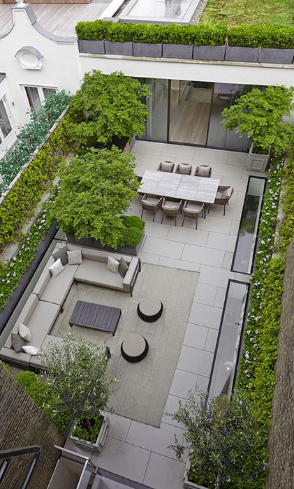 Comment am nager une cour comme un jardin - Lay outs idee ...
