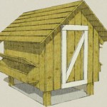 Poulailler maisonnette ©Barngeek.com