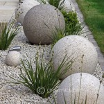 Boules en béton ©Greencubelandscapes.blogspot.co.uk