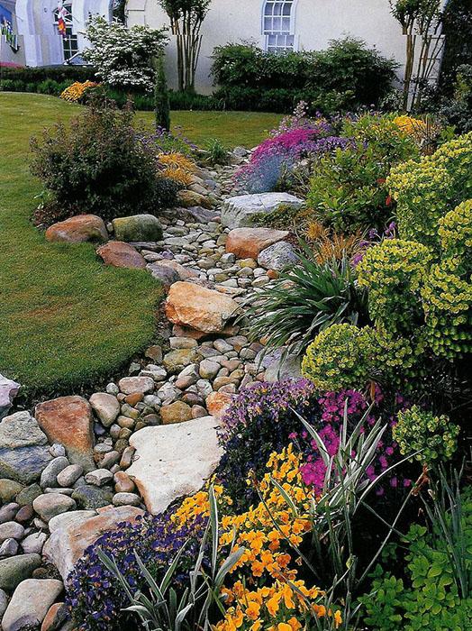 Aménager Son Jardin Avec Des Pierres création d'une rivière sèche : tous les conseils en images