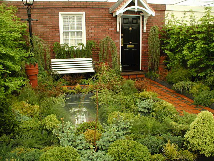 Comment am nager l 39 entr e ext rieure d 39 une maison for Terraced house garden ideas