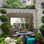 Miroir de jardin ©houseandgarden.co.uk