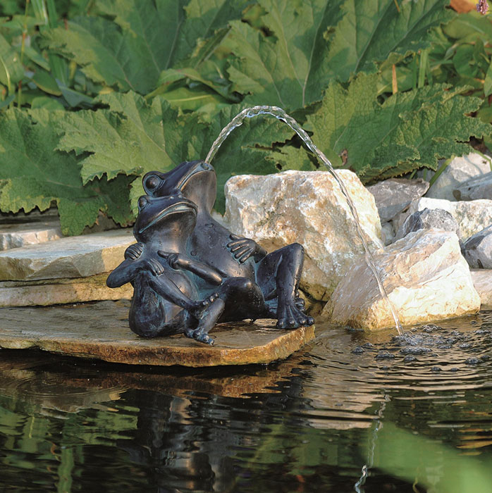 17 exemples de fontaines pour votre jardin et votre terrasse - Fontaine petit bassin exterieur ...
