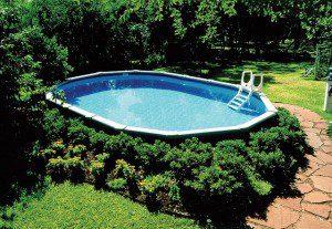 comment installer et int grer une piscine gonflable au jardin. Black Bedroom Furniture Sets. Home Design Ideas