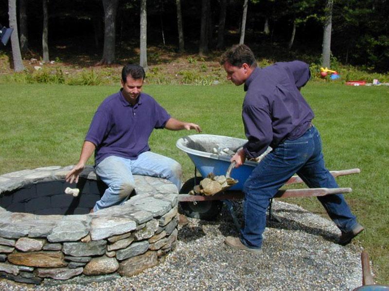 braseros en lments prfabriqus - Construction D Un Barbecue Extrieur