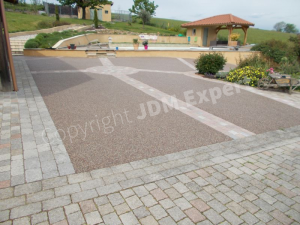 Surface avec des pavés ©Hydroway/Jdm-expert.com