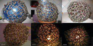 Sphère en morceaux de bois ©Inconnu