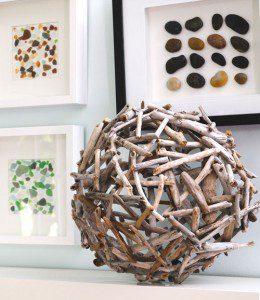 Boule en morceaux de bois ©Creativeinchicago.com