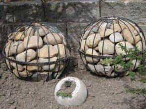 Boules-gabions ©Bonneylassie.blogspot.com