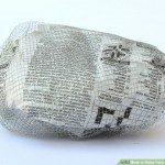 Recouvrez le papier de grillage fin ©Wikihow.com