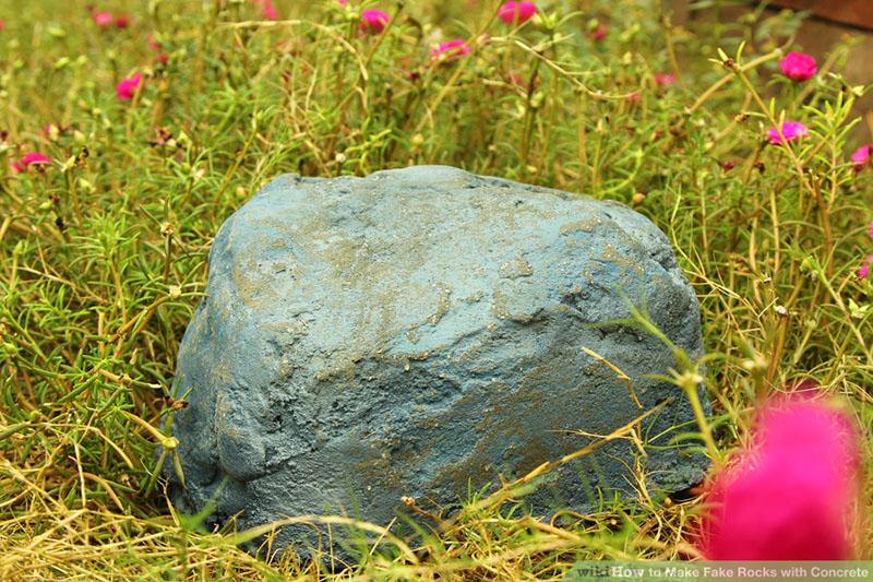 tutoriel diy  cr u00e9er des faux rochers au jardin