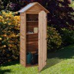 Armoire de jardin en bois ©Trigano Store