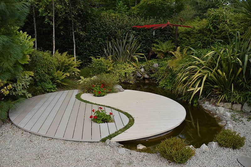 Espace zen à l'écart du reste du jardin ©Inconnu