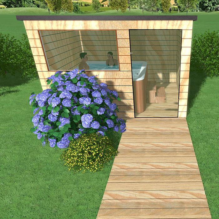 7 id es pour augmenter les possibilit s de votre abri de for Mettre un chalet dans son jardin