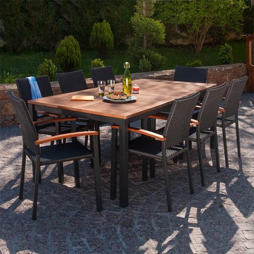 Best Salon De Jardin Aluminium Oogarden Contemporary - House Design ...