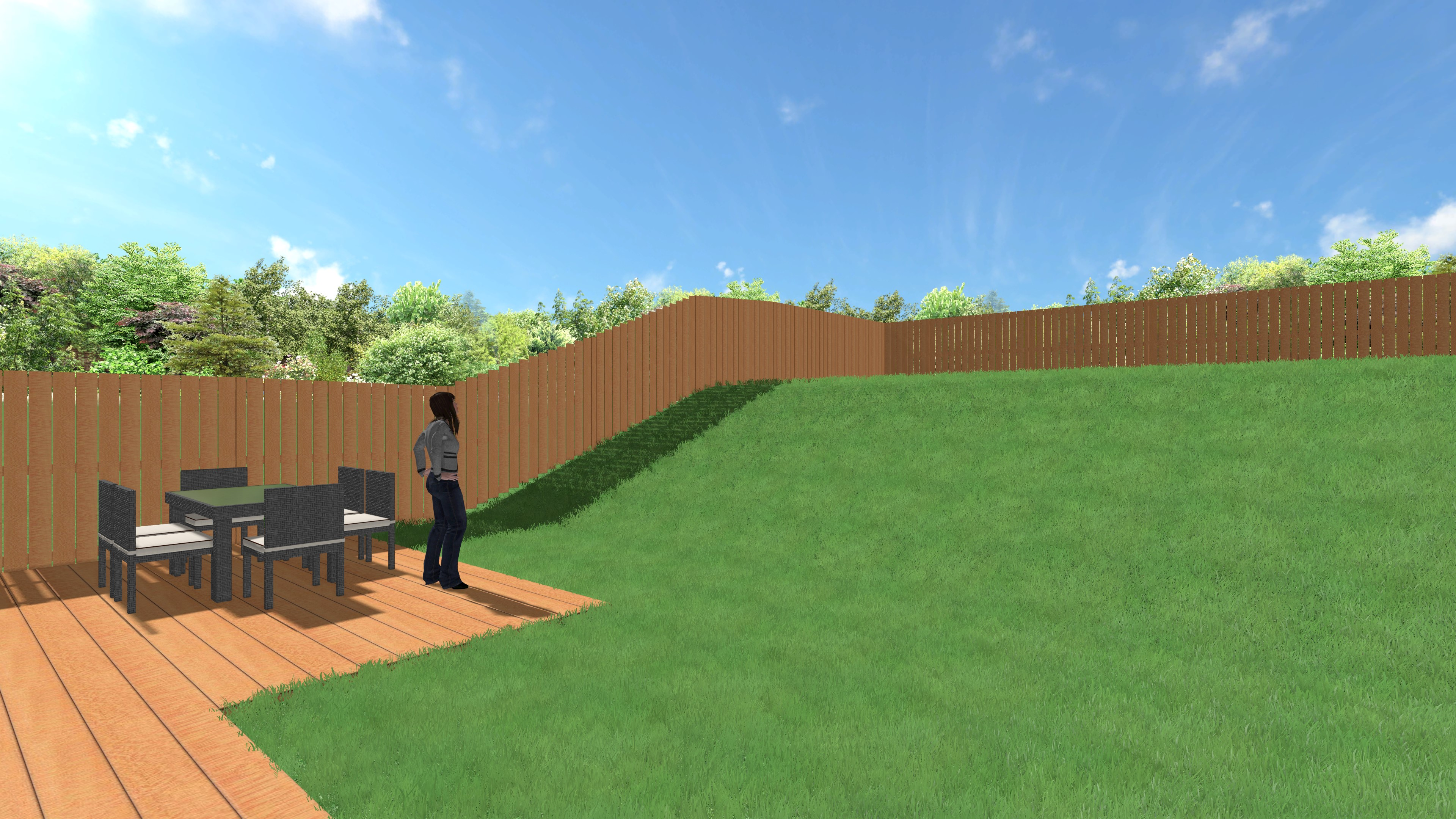 Mettre Piscine Sur Terrain En Pente aménagement d'un jardin en pente : les 2 grands principes