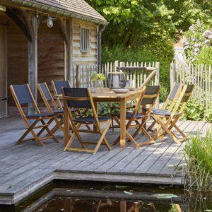Le mobilier de jardin en bois avec Bois Dessus Bois Dessous